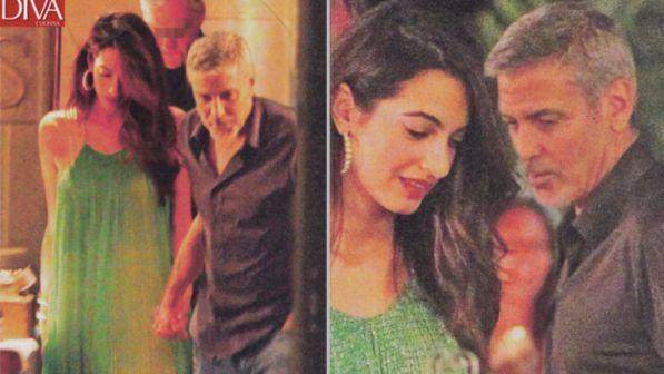 George e Amal Clooney, cena romantica e donazione da 1 mln di dollari contro il razzismo
