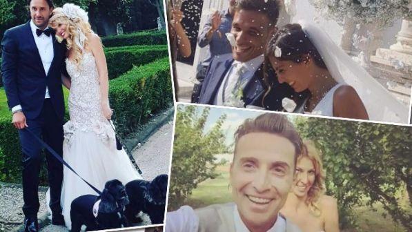Weekend con i fiori d'arancio: vanno a nozze Luca Toni, Pintus e Niccolò Canepa