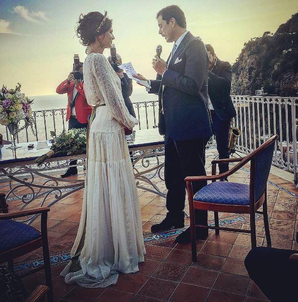 Giulia Bevilacqua si è sposata: guarda l'album delle nozze a Positano