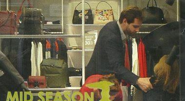 Tomaso Trussardi, shopping senza Michelle Hunziker e la figlia Sole lo fa impazzire
