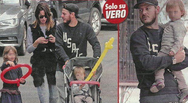 XFactor, Alessandro Cattelan in tuta per il pomeriggio in famiglia
