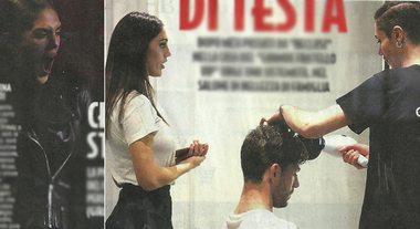 Cecilia Rodriguez, si annoia con gli amici poi porta il fidanzato Ignazio Moser dall'hair stilyst di famiglia