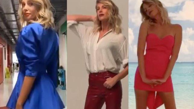 Alessia Marcuzzi, ecco i primi outfit per l'Isola