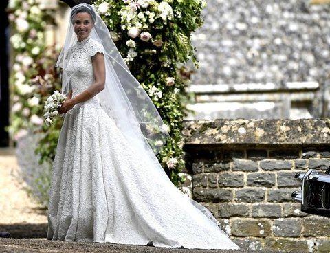 Pippa Middleton, l'abito da sposa è del designer Giles Deacon: ecco tutti i dettagli