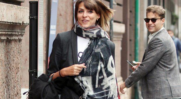 Cristina Chiabotto, ritorno a casa tra l'ammirazione dei fan