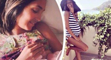 """Caterina Balivo, è nata la figlia. Annuncio su Instagram: """"Si chiama Cora"""""""