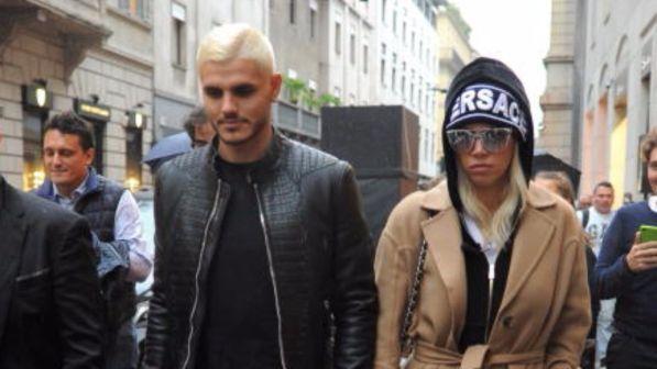 "Icardi e Wanda Nara, shopping ""platinato"""