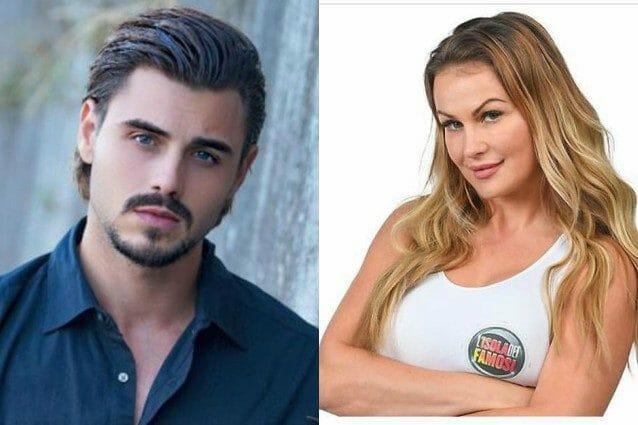 Francesco Monte ed Eva Henger ospiti della prima puntata del Maurizio Costanzo Show