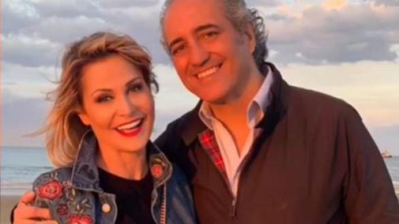 Simona Ventura, dedica d'amore per il compleanno del suo compagno