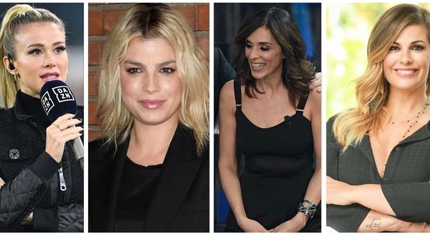 Festival di Sanremo 2020, le vallette: poker di donne, dalla Incontrada alle due Emma