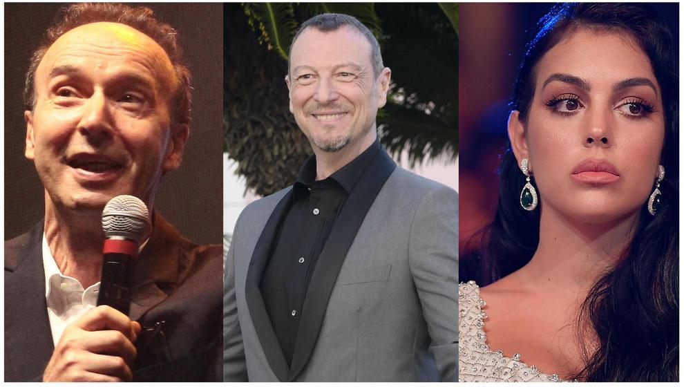 Sanremo 2020 rumors sui primi cachet: a Benigni 300mila euro. «Georgina a rischio, vuole più soldi»