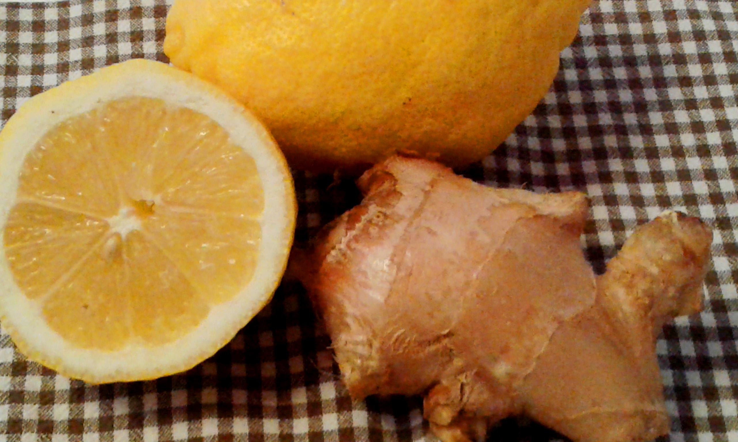 Tisana limone e zenzero…benefici  in primavera