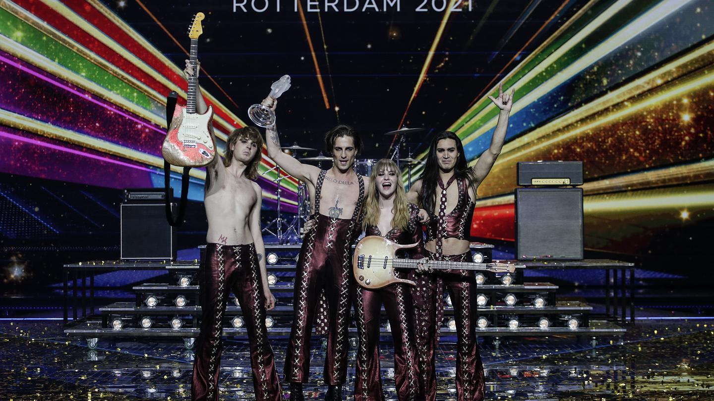 I Maneskin vincono l'Eurovision Song Contest 2021!