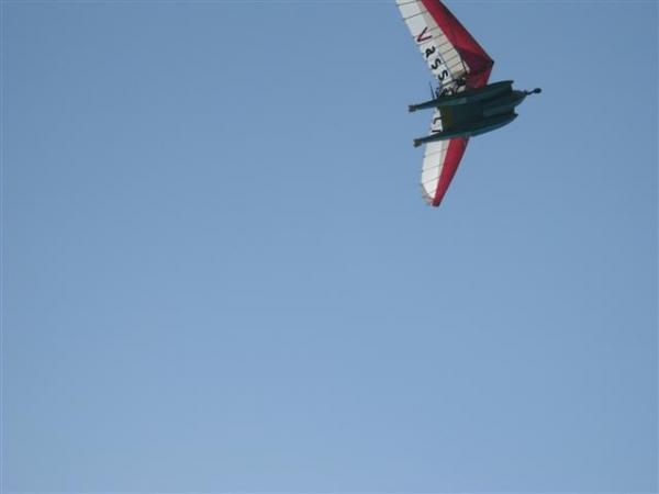 un deltaplano a motore [penso che sia questo il suo vero nome] [qualcuno mi può illuminare?]