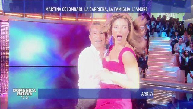 Il ballo di Martina Colombari, bellezza eterna a Domenica Live!