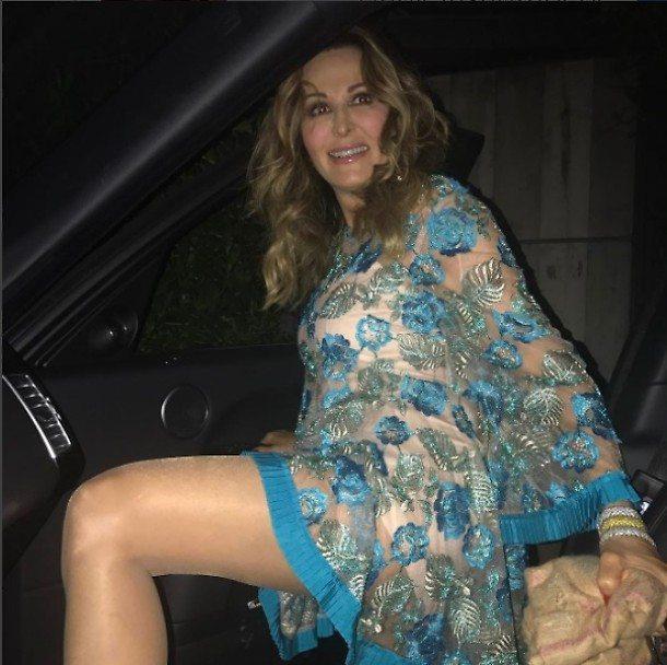 Daniela Santanchè su Instagram: il vestito è trasparente
