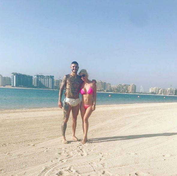 Wanda Nara, vacanze esagerate con Mauro Icardi a Dubai