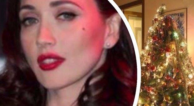 """""""Tengo l'albero di Natale acceso tutto l'anno, da 11 anni"""": Chiara Francini confessa perché"""