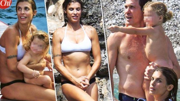 """Elisabetta Canalis vacanza in Costiera Amalfitana: """"Un Paradiso"""""""