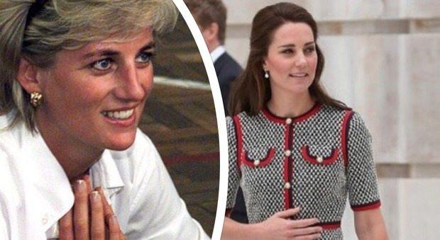 Kate Middleton e Lady Diana, ecco il segreto che le unisce