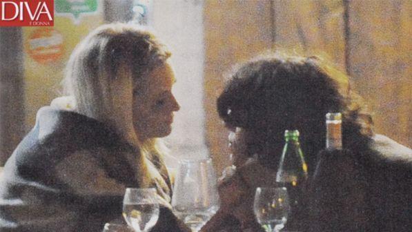 Carolina Crescentini a cena con il nuovo amore