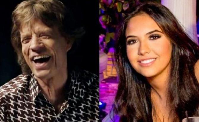Mick Jagger a Parigi con la nuova fiamma: lei ha 57 anni meno di lui