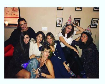 Lady Bonucci fa festa con le amiche-wags juventine