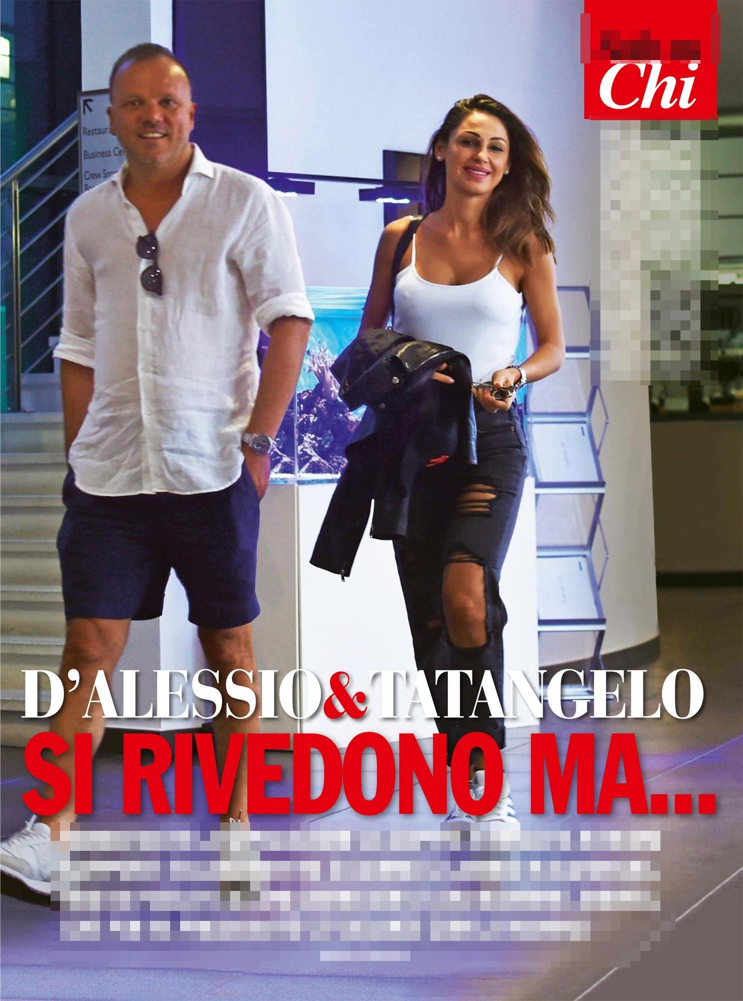 """Gigi D'Alessio: """"Io e Anna Tatangelo non ci siamo mai lasciati"""""""