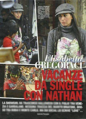 Elisabetta Gregoraci e la crisi con Briatore: vacanze da single col figlio Nathan Falco