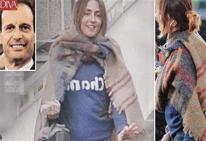 Ambra Angiolini incinta di Massimiliano Allegri? Ecco la foto sul pancino sospetto