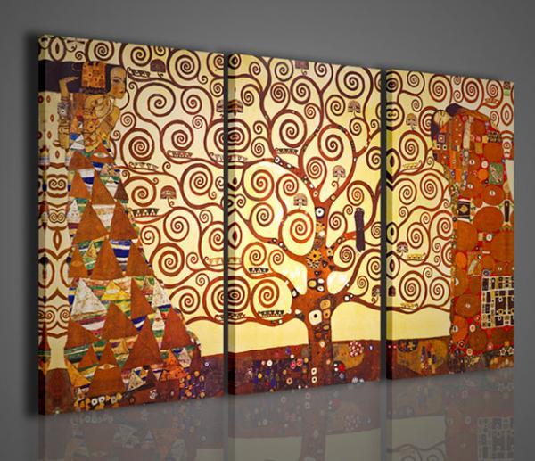 Quadri Moderni-Quadri Pittori Famosi-L\'albero della Vita