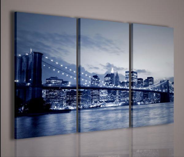 Quadri Moderni-Quadri di Città-New York Bridge 5