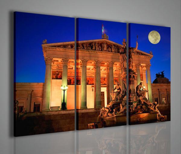 Quadri Moderni-Quadri di Città-Vienna Fountain