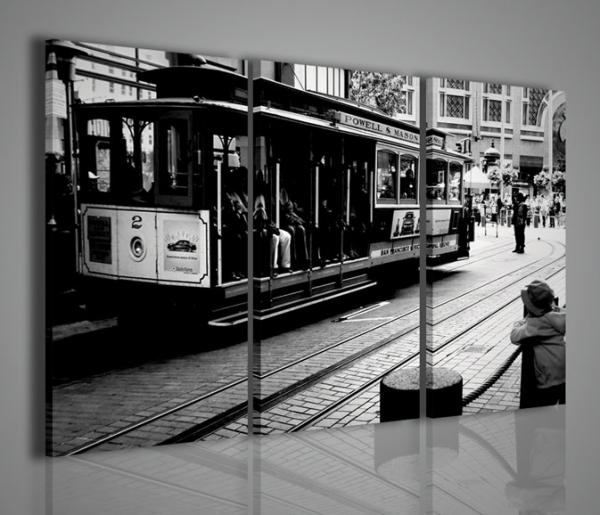 Quadri Moderni-Quadri di Città-San Francisco Old