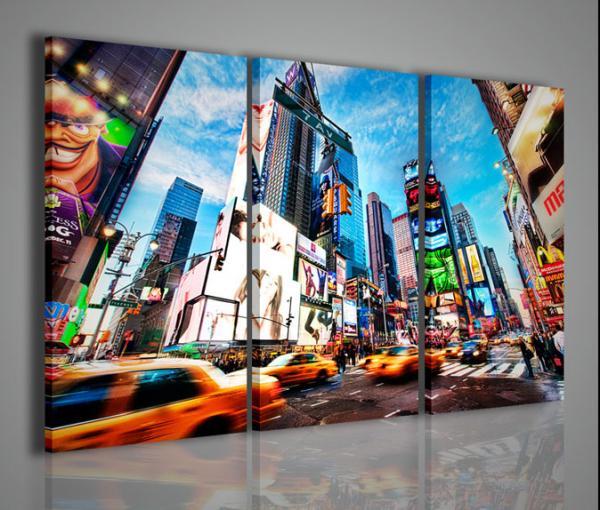 Quadri Moderni-Quadri di Città-New York Times Square IV