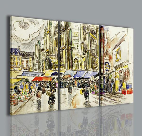 Quadri Moderni-Quadri Pittori Famosi-Paul Signac III