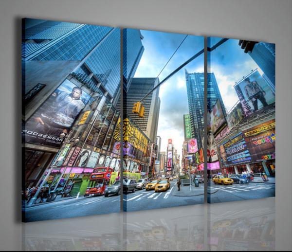 Quadri Moderni-Quadri di Città-New York Times Square II