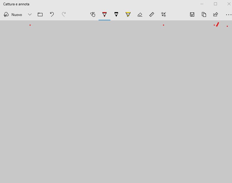 Lo strumento cattura verrà sostituito da cattura e annota in un aggiornamento di Windows 10