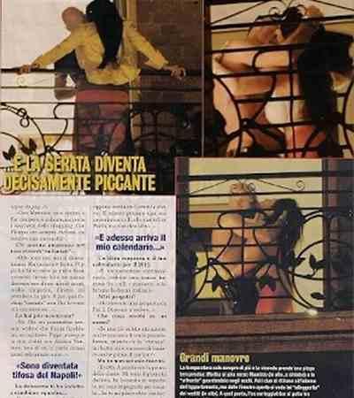 Marika Fruscio Fotografata Mentre Fa Sesso sul Balcone !