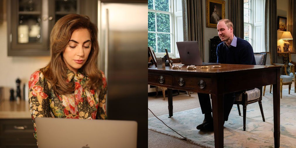 Lady Gaga chatta su FaceTime col principe William di psichiatria e malattie mentali