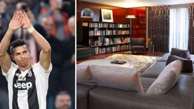 Ronaldo a Londra con Georgina: la loro suite al Bulgari Hotel da diecimila euro a notte