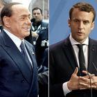 """Berlusconi su Macron: """"Ha una bella mamma che se lo porta sottobraccio"""""""