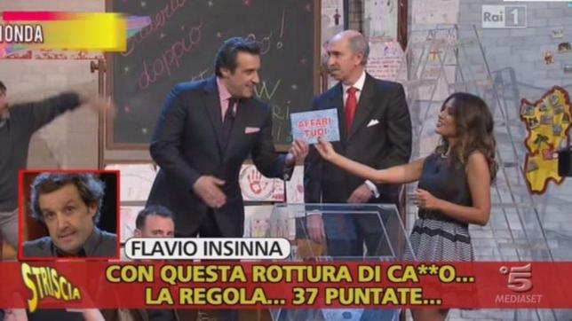 Flavio Insinna, spunta il fuorionda shock in cui insulta i concorrenti