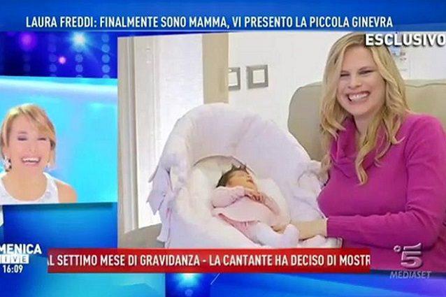 """Laura Freddi finalmente mamma: """"Vi presento la mia Ginevra"""""""