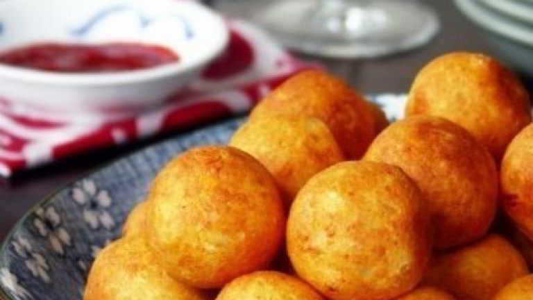 Palline di formaggio fritte