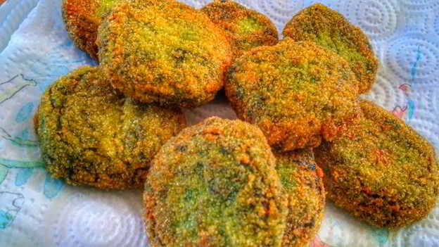 Crocchette di spinaci