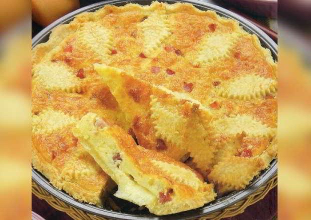 Torta salata con formaggio