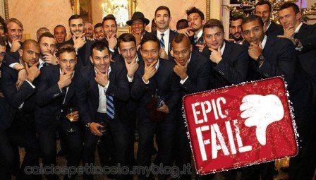 Ieri EpicBrozo, oggi Epic Fail interismo comico