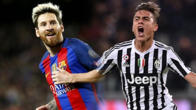 Champions League: Barcellona Juve, Dybala sfida Messi
