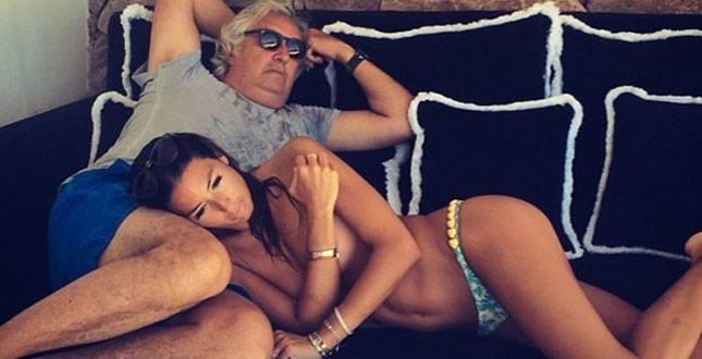 """Briatore: """"Lasciare la Gregoraci mi costerebbe troppo"""""""